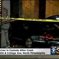 Driver In Custody After North Philadelphia Crash