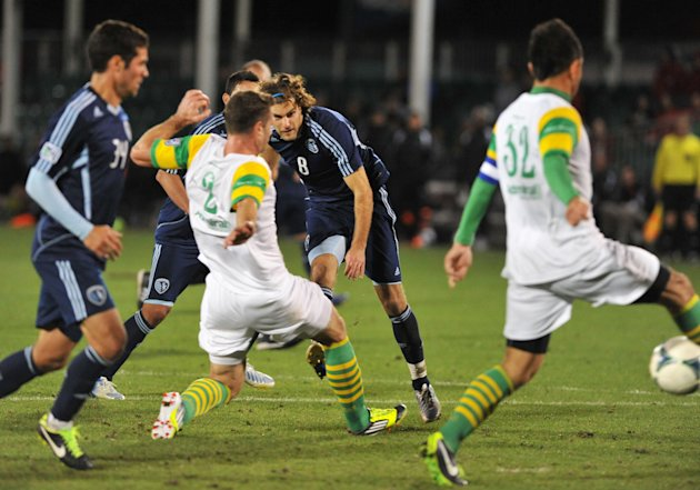Sporting Kansas City v Tampa Bay Rowdies - Disney Pro Soccer Classic