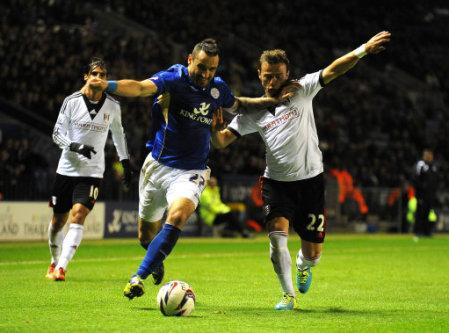 Soccer - Capital One Cup - Fourth Round - Leicester City v Fulham - King Power Stadium