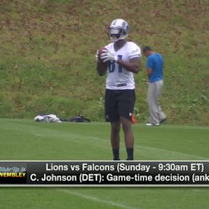 Steve Wyche: 'More and more likely' Detroit Lions wide receiver Calvin Johnson won't play