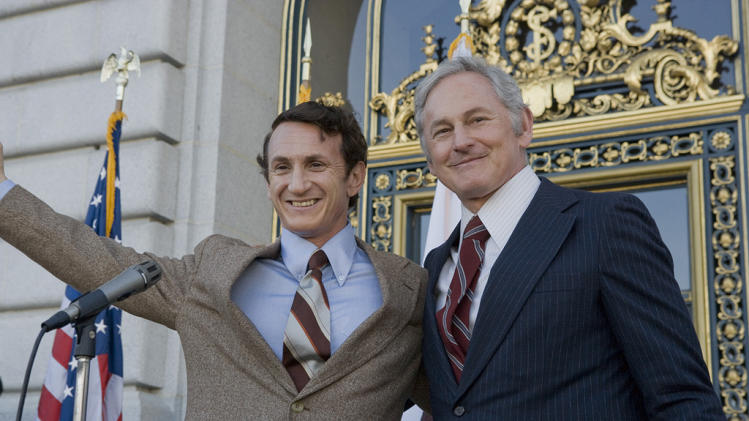 Milk Production Stills 2008 Focus Features Sean Penn Victor Garber