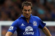 Everton defender Jagielka eyes derby win for possible Moyes farewell