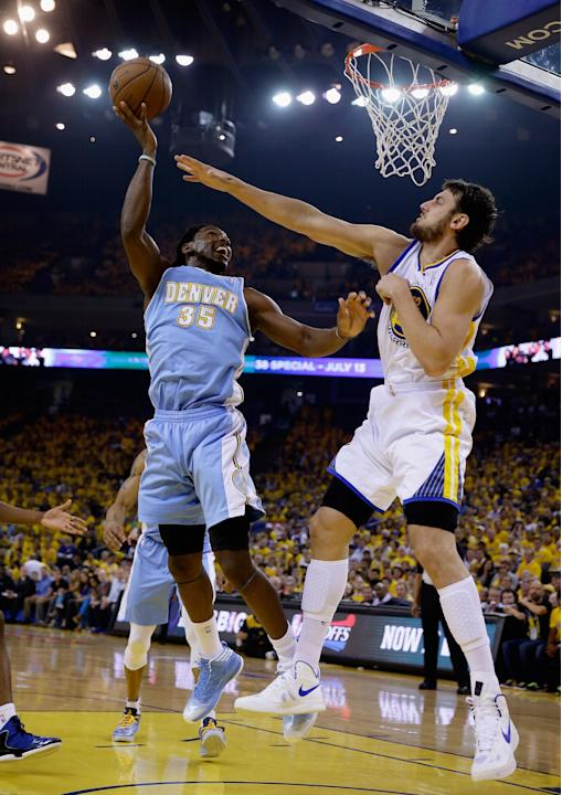 Denver Nuggets v Golden State Warriors - Game Three