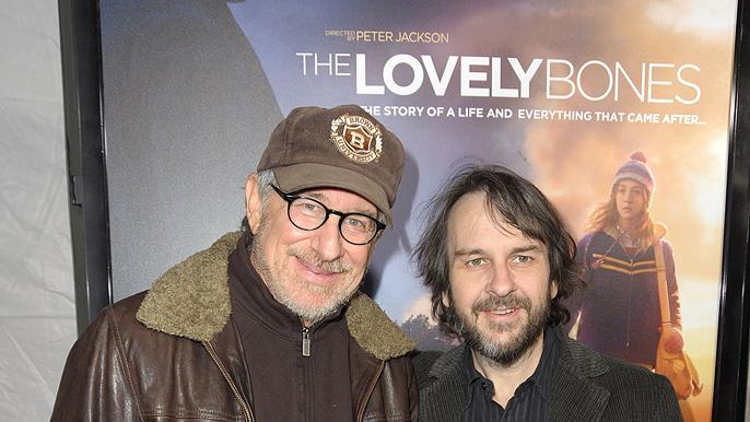 The Lovely Bones LA Premiere 2009 Steven Spielberg Peter Jackson