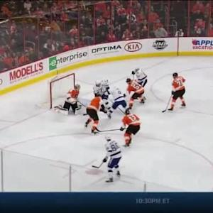 Tyler Johnson Goal on Steve Mason (06:34/2nd)