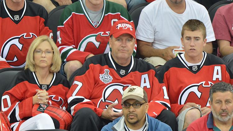 Celebrities Attend The 2012 Stanley Cup Final Game One - May 30, 2012