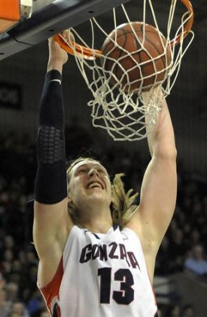 No. 9 Gonzaga holds off Saint Mary's 83-78