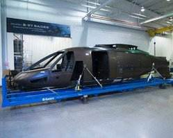 Sikorsky S-97 RAIDER™ Helicopter Enters Final Assembly with Delivery of the Fuselage from Aurora Flight Sciences