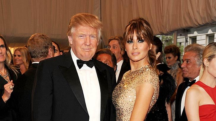 Donald Melania Trump TheMET Gala