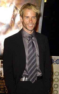 Guy Pearce at the LA premiere of Dreamworks' and Warner Brothers' The Time Machine