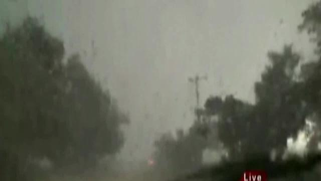 KFOR tornado video near El Reno