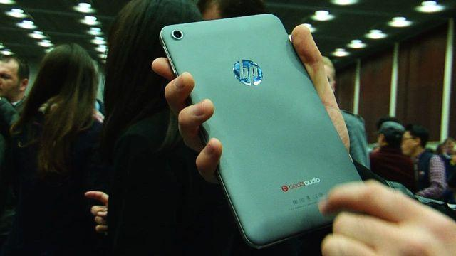 HP dives into Android with the Slate 7 tablet