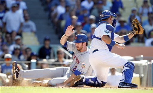 Mets' Santana shuts down Dodgers in 5-0 win
