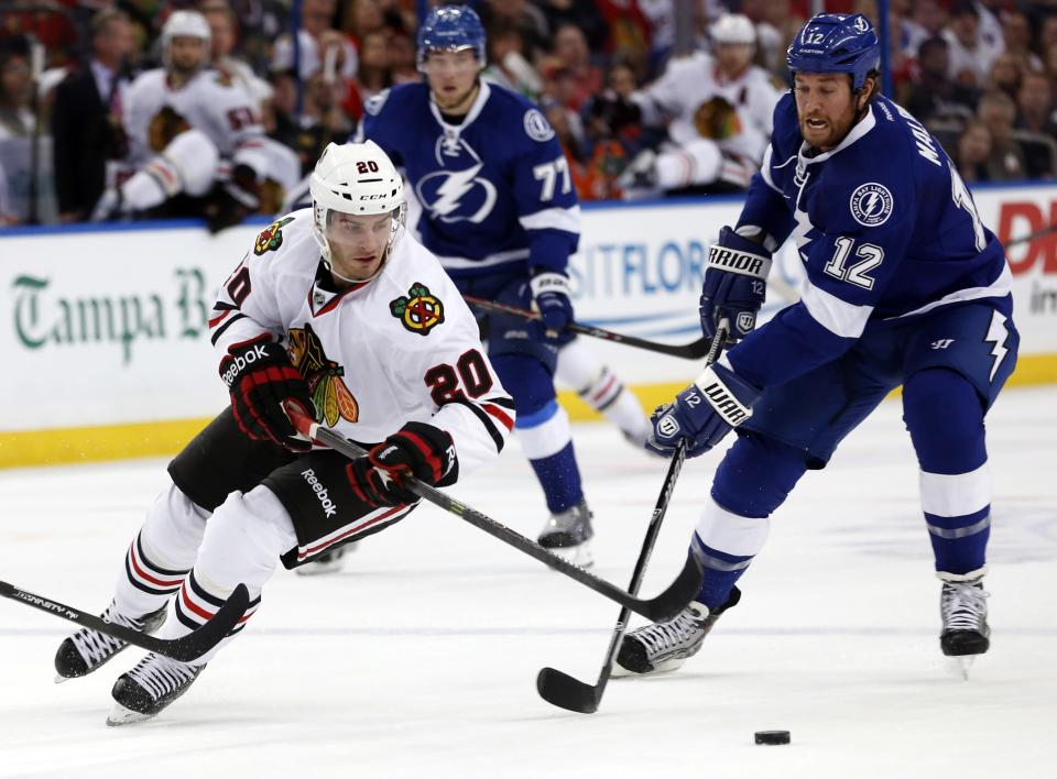 St. Louis scores in OT; Lightning beat Hawks