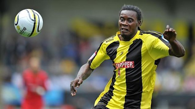 Burton striker Calvin Zola has interest from rival clubs