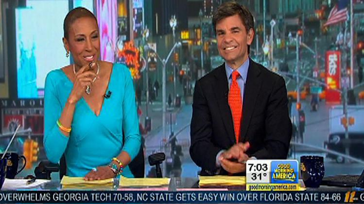 Robin Roberts returns