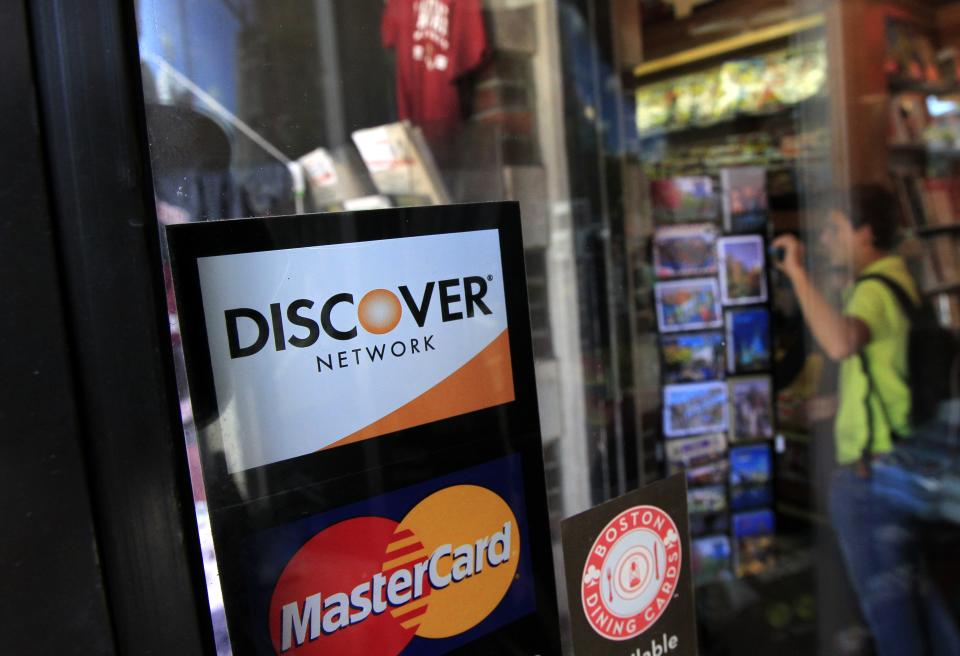 Discover Financial 1Q net income rises 2 pct