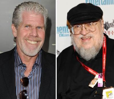 Ron Perlman, George R. R. Martin -- Getty Images