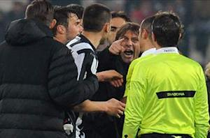 Conte, Bonucci and Chiellini among Juventus personnel banned over Genoa reactions