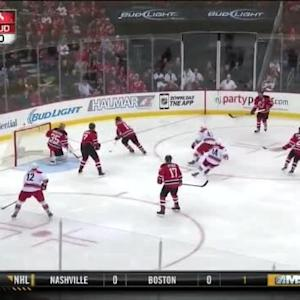Cory Schneider Save on Chris Terry (01:12/1st)