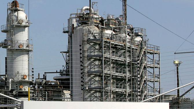 File photo of the Exxon Mobil refinery in Baytown, Texas