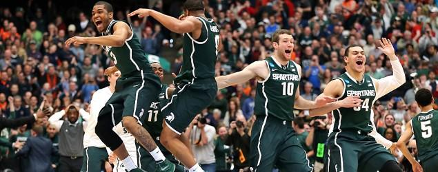 Michigan State stuns Louisville for Final Four berth