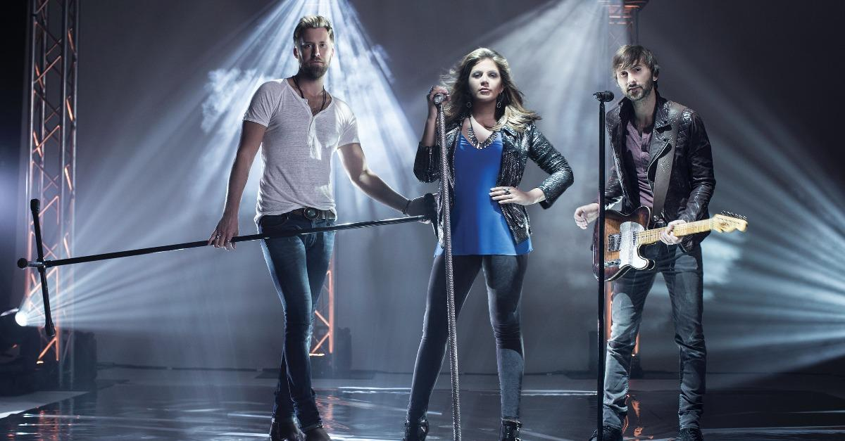 Lady Antebellum Talks Exclusively w Katie Couric