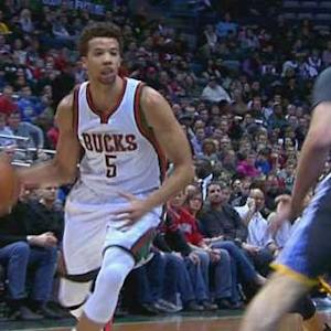Carter-Williams' Two-Handed Jam