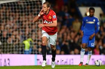 Chicharito scores in Man United Captial One Cup loss to Chelsea