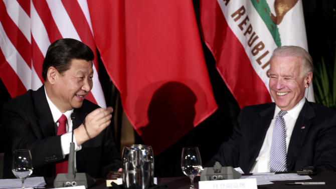 Chinese leader Xi, Biden promote trade in LA