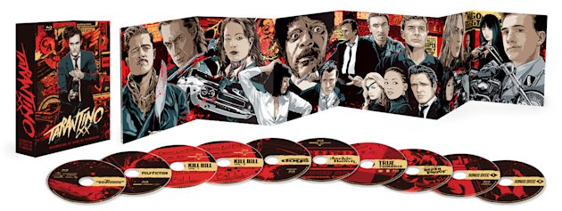Tarantino XX: 8-Film Collection