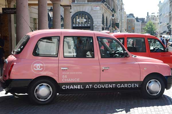 WOW! Hail A Chanel Taxi In London And WIN A Complimentary Makeover