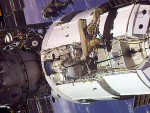 FILE - In this frame grab from video provided by NASA,…