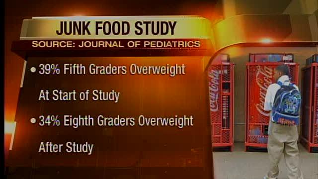 5am: New junk food study