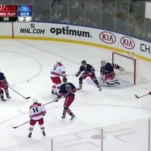 Henrik Lundqvist Save on Nathan Gerbe (18:09/1st)