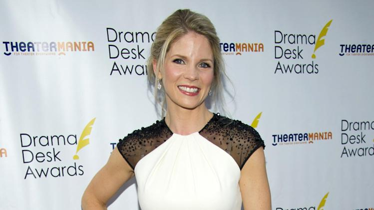 "FILE - This June 3, 2012 file photo shows actress Kelli O'Hara at the 57th Annual Drama Desk Awards in New York. O'Hara will be taking a break from singing Gershwin songs on Broadway early next year _ to song Rodgers & Hammerstein tunes with the The New York Philharmonic.  The Philharmonic said Monday, Nov. 12, that O'Hara, currently starring in ""Nice Work If You Can Get It"" at the Imperial Theatre, will appear as Julie Jordan in a production of ""Carousel"" running from Feb. 27 to March 2. (Photo by Charles Sykes/Invision/AP, file)"
