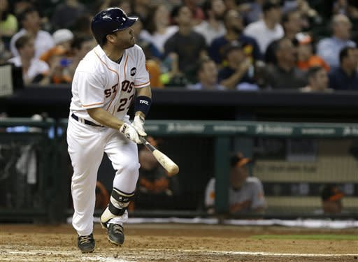 Power surge: Astros homer 6 times in 11-7 win