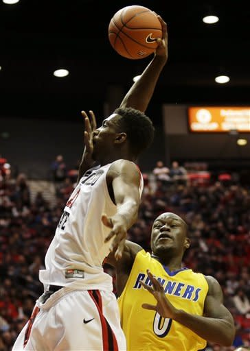Franklin, Tapley lead No. 19 SDSU over CSUB, 72-57