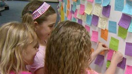 First-Graders' Acts of Kindness Catch On