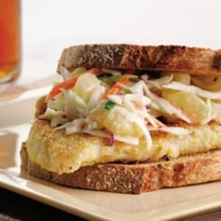 Classic Fish Sandwich Without the Fryer