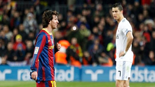 cristiano ronaldo, lionel messi, real madrid, barcelon