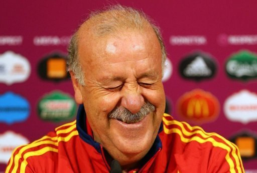 Vicente Del Bosque took over as Spain coach in 2008 and led 'La Furia Roja' to their only World Cup triumph in 2010