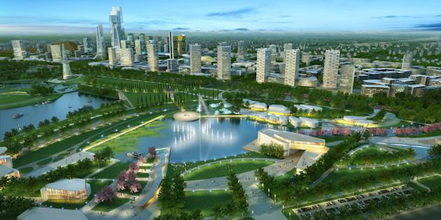 Stunning leisure project in China's richest city