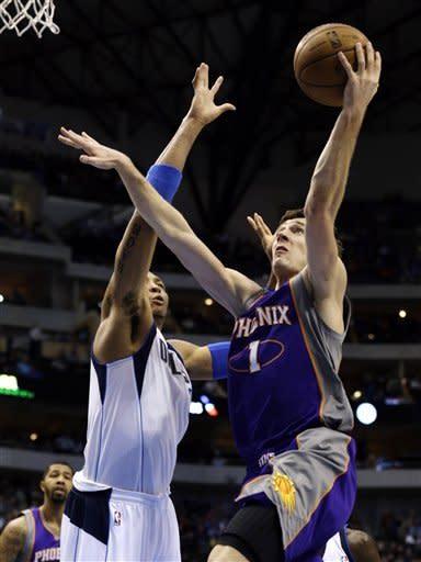 Marion, Nowitzki lead Mavericks past Suns, 110-95