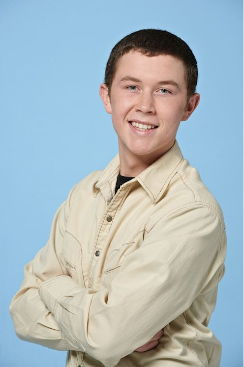 "Scotty McCreery, 17, from Garner, NC competes on the tenth season of ""American Idol."""