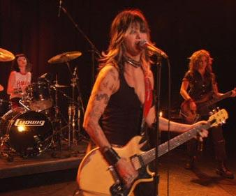 Shelly Cole , Gina Gershon and Drea de Matteo in MAC Releasing's Prey for Rock and Roll