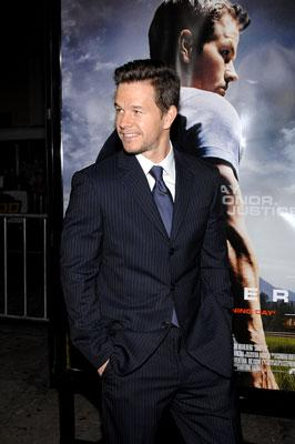 Mark Wahlberg at the Los Angeles premiere of Paramount Pictures' Shooter