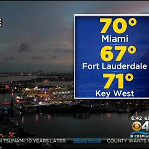 CBSMiami.com Weather @ Your Desk 12/27/14 7 AM
