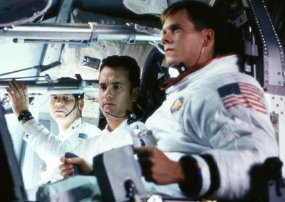 Bill Paxton , Tom Hanks and Kevin Bacon in Universal's Apollo 13