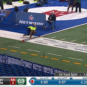2014 Combine workout: Kapri Bibbs